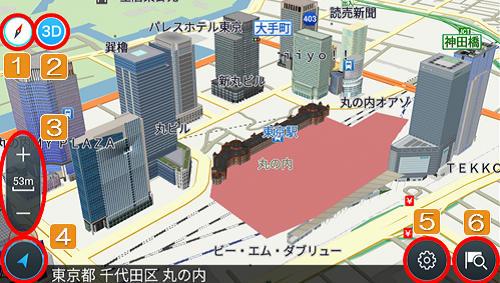地図の縮小